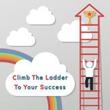 Idea leadership business concept Stock Photo