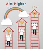 Idea leadership business concept Royalty Free Stock Photo