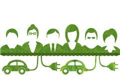 Idea from leaf. Stock Photos