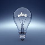 Idea light Royalty Free Stock Photos