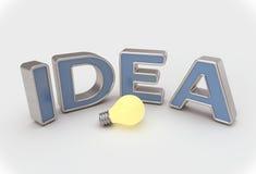 Idea Lightbulb Concept Stock Images