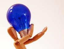 Idea luminosa Fotografie Stock Libere da Diritti