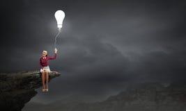 Idea luminosa Fotografia Stock