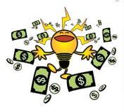 Idea make money Royalty Free Stock Image