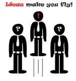 Idea man Stock Images
