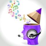 Idea Man - Music Composition Stock Images