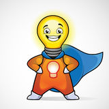 Idea Man. Superhero Royalty Free Stock Photo