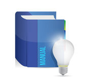 Idea manual illustration design Royalty Free Stock Photo