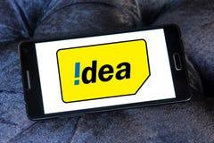 Idea mobile operator logo Stock Photos