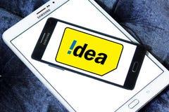 Idea mobile operator logo Royalty Free Stock Photos