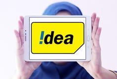 Idea mobile operator logo Stock Image