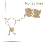 Idea is money Royalty Free Stock Photos