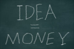 Idea money Stock Images