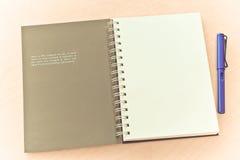 Idea notebook Royalty Free Stock Photo