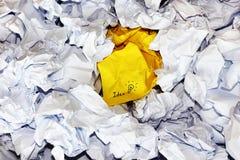 Idea paper Stock Photo