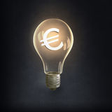 Idea para la ganancia del dinero Fotos de archivo libres de regalías