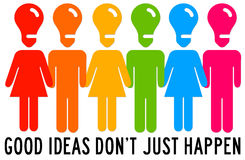 Idea people Stock Images
