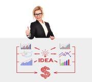 Idea plan Stock Image