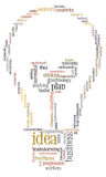 Idea plan info-text graphics Stock Images