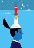 Idea Rocket Stock Images