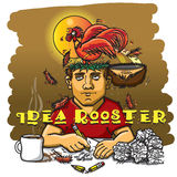 Idea Rooster Stock Images