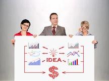 Idea scheme Royalty Free Stock Photo