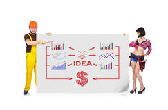 Idea scheme Stock Images