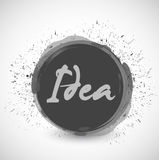 Idea scribble illustration design Stock Images