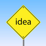 Idea Sign stock illustration