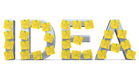 Idea sign Stock Images