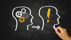Idea solve problem concept Stock Image
