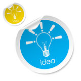 Idea stick Royalty Free Stock Photography