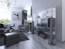 Idea of studio apartments Stock Photos