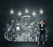 Idea and success concept stock images