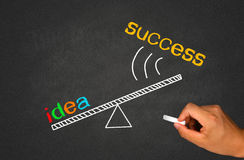 Idea and success Stock Photography