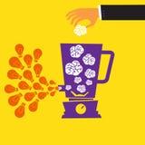 Idea success Stock Image