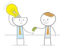 Idea sulla vendita Immagini Stock
