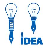 Idea symbols Stock Images