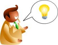 Idea talk Royalty Free Stock Photography