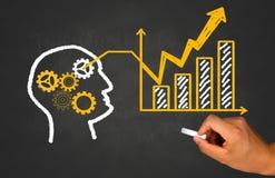 Idea, teamwork and business concept stock photos