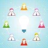 Idea Think Tank Stock Photo