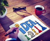 Idea Thought Motivation Mission Vision Concept Royalty Free Stock Photography