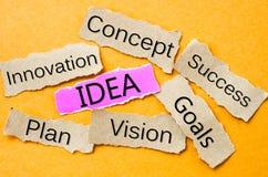 The Idea Stock Image