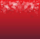 Idea of a Valentines Day Card background Royalty Free Stock Photo