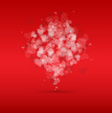 Idea of a Valentines Day Card background Royalty Free Stock Images
