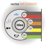 Idea vecctor elements Royalty Free Stock Image