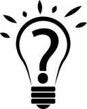 Idea. Vector illustration of idea bulb Stock Images