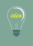 Idea vector illustration Royalty Free Stock Photo