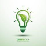 Idea verde Fotografia Stock