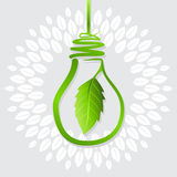 Idea verde per terra Immagini Stock